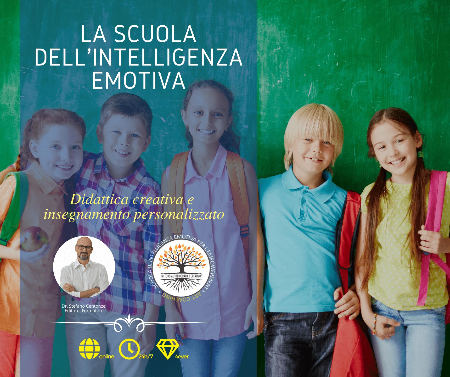 Master Scuola - Intelligenza Emotiva per Insegnanti - Formazione Asincrona - Scuola di Intelligenza Emotiva per l'Empowerment
